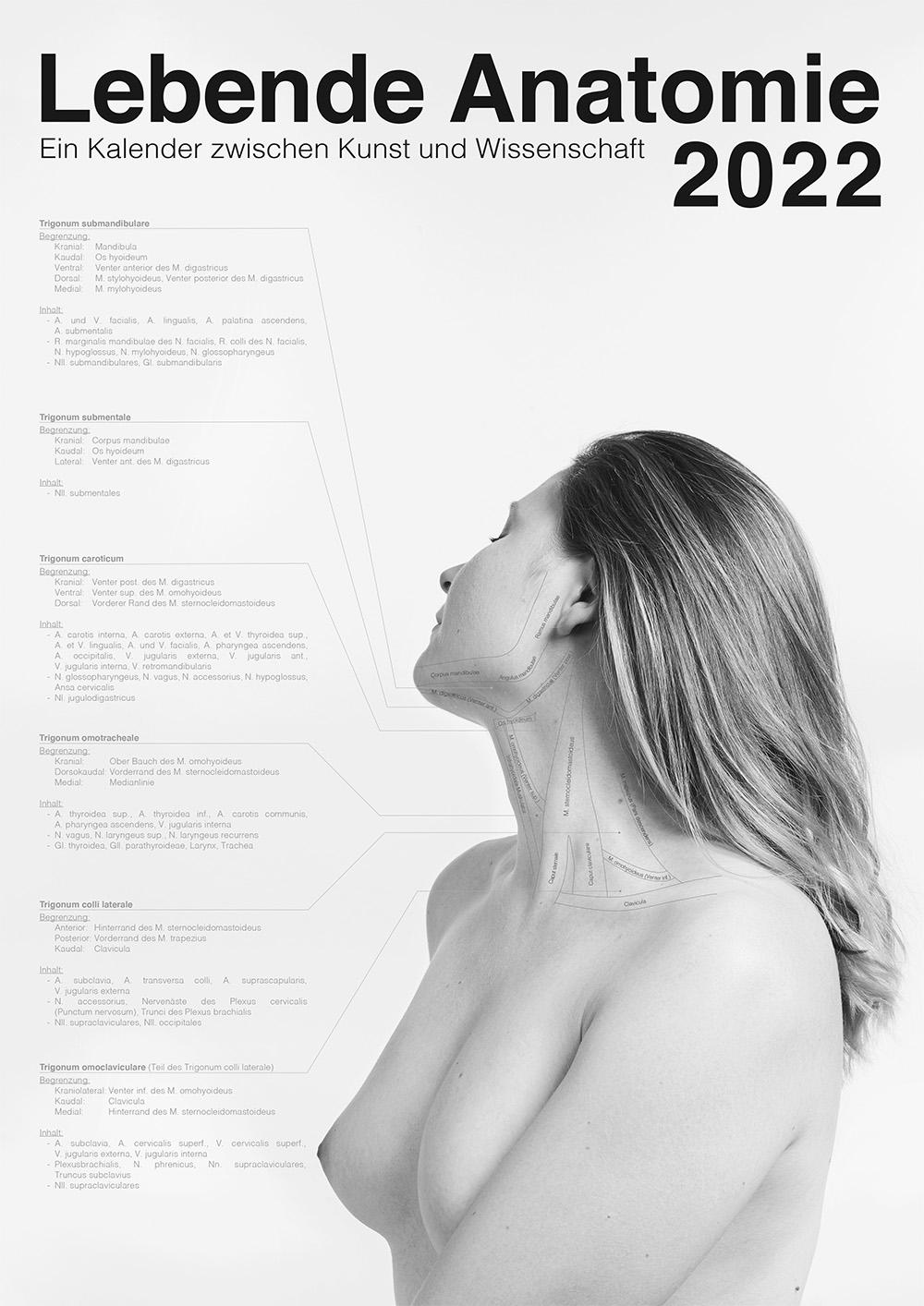 Lebende Anatomie Kalender 2022 VORSCHAU 00