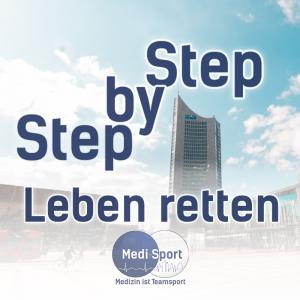 Step By Step Leben Retten Logo